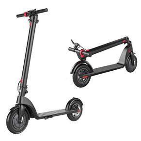 WYZQ Scooter Eléctrico Plegable De Dos Ruedas con Batería De Litio, Velocidad Máxima De 25 Km/H, 36 V 250 W, Patinete Adulto para Viajar hacia Y Desde El Trabajo, La Escuela