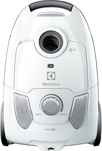 Electrolux EEG41IW Aspirapolvere con Sacco Easygo, Hygiene Filter 12, Regolazione Velocità, 3.5 L,...