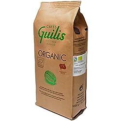CAFES GUILIS DESDE 1928 AMANTES DEL CAFE - Café Orgánico En Grano Arábica Cultivo Bio Ecológico Natural. Tueste Artesanal 1 kilogramo