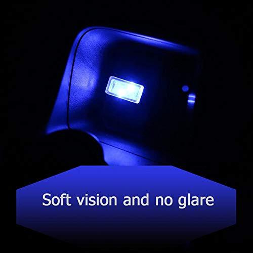 AimeFor Mini Wireless Auto USB Illuminazione Auto Interno Luci Atmosfera USB Luce Universal LED Luce...