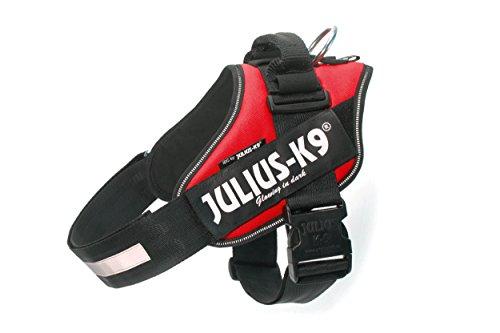 Julius-K9 IDC, Pettorina per cani, Taglia 2, Rosso