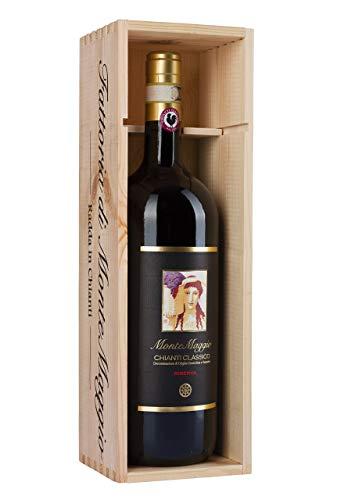 Chianti Classico Riserva di Montemaggio - Vino Rosso Toscano Biologico - Gallo Nero DOCG - Fattoria di Montemaggio - Magnum - L'annata 2013