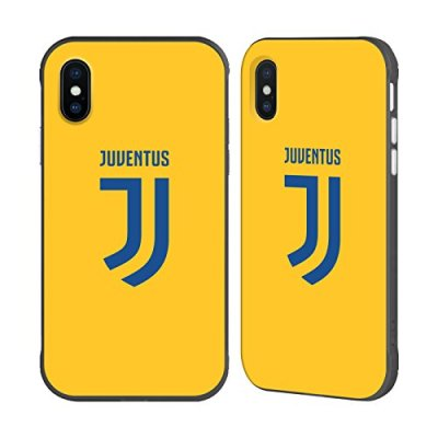 Ufficiale Juventus Football Club Fuori Casa 2017/18 Race Kit Nero Fender Case per iPhone X/iPhone XS