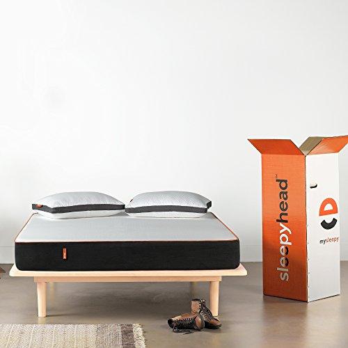 Sleepyhead 3 Layered Orthopedic Memory Foam Mattress, 78x60x6 inches (Queen Size)