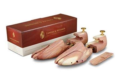 Langer-Messmer-Schuhspanner-aus-Zedernholz-Gre-3637-das-Original