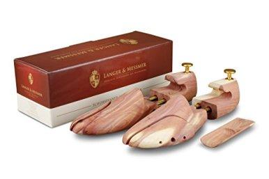 Langer-Messmer-Schuhspanner-aus-Zedernholz-Gre-4850-das-Original