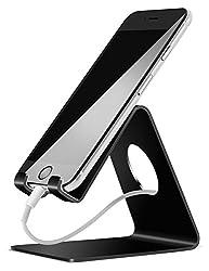 Kaufen Handy Ständer, Lamicall Handy Halterung : Handyhalterung, Halter, Phone Ständer für iPhone Xs Max, Xs, XR, X, 8, 7, 6s 6 / Plus, SE, 5, Samsung S7 S8, Huawei, Tisch Zubehör, Schreibtisch, andere Smartphone - Schwarz