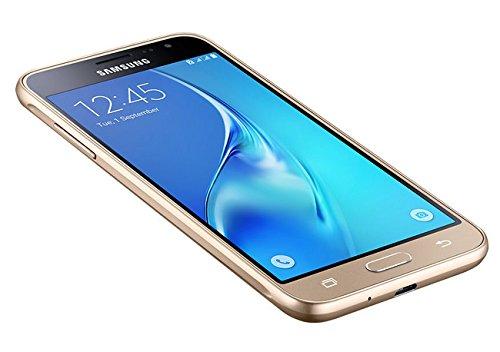 "Samsung Galaxy J3 (2016) SM-J320F SIM Doble 4G 8GB Oro - Smartphone (12,7 cm (5""), 8 GB, 8 MP, Android, 5.1, Oro)"