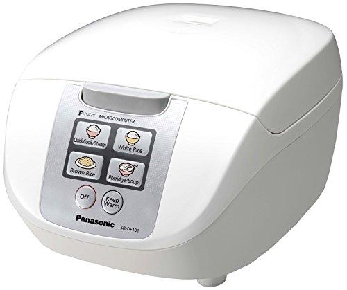 Panasonic sr-df101wxb–Cuociriso/vaporiera, Capacità 1L, 6modalità di cottura, 750W,...