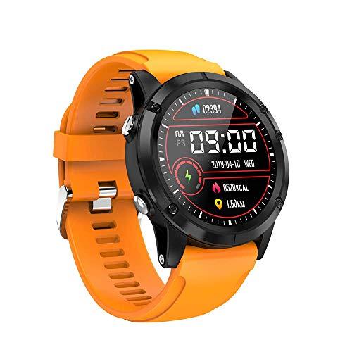 GXFNS Fitness Tracker Smart Watch Impermeabile per Uomo con Cardiofrequenzimetro per Ossigeno nel...