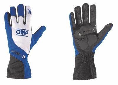 OMP ompkk02743175X L KS-3Guanti, colore: nero/bianco/blu, taglia XL