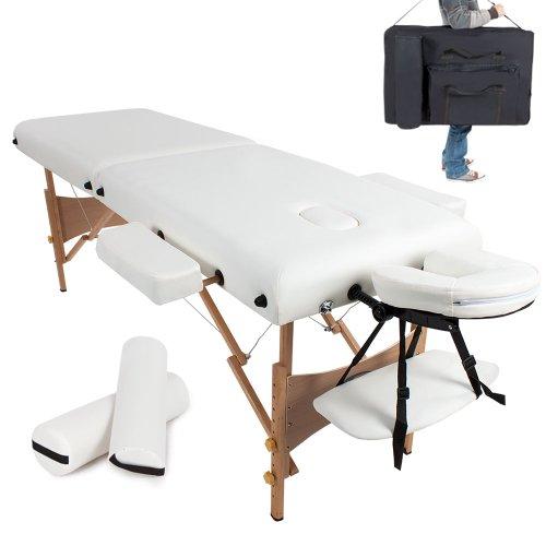 TecTake Massageliege -  7,5cm Polsterung