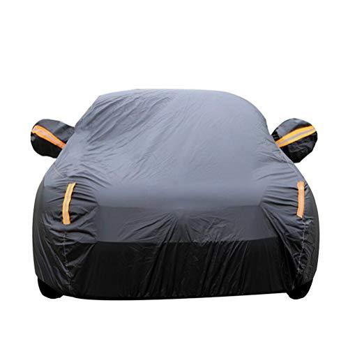 QCZD88 Copertura dell'automobile, Compatibile con Volkswagen,Nero,Bora