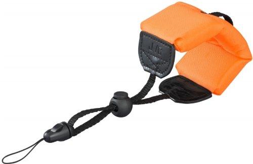 JVC WA-FL001EU Galleggiante per Action Cam Waterproof, Nero/Arancio