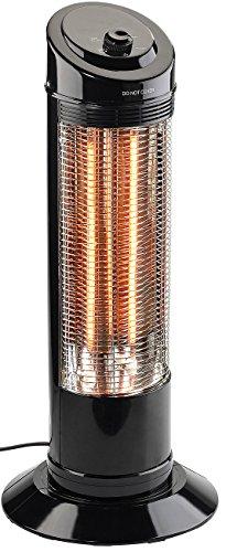 Sichler Haushaltsgeräte Heizstrahler: Infrarot-Heizstrahlersäule mit Oszillation, 600/1.200 Watt (Infarotheizung)