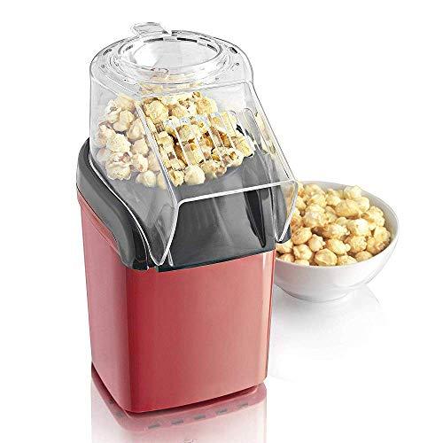 GRKDYBMHJ Popcorn Maker, Fun Fiera Partito Macchina creatore del Popcorn Oil-Free con Piedini Antiscivolo, 1200W, Fa Caldo, Fresco, Sano e Fat-Free Theatre Style Popcorn Anytime