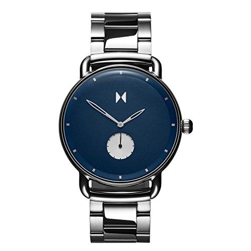 MVMT Herren Analog Quarz Uhr mit Edelstahl Armband D-MR01-BLUS