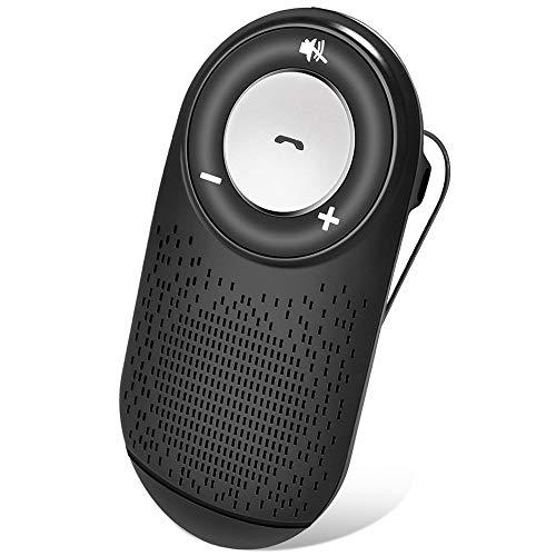 (Versione italiana) Vivavoce Bluetooth per Auto con Accensione Automatica per Chiamate Viva Voce,...