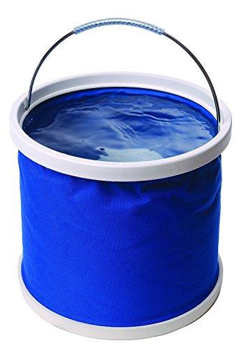 DYBOHF Cubo Plegable Cubeta de Agua portátil Multiuso - Apto para Acampar, Deportes al Aire Libre, Uso doméstico, Cubo de Agua para Lavado de Autos Capacidad - Ligero y fácil de Transportar (11L) 7