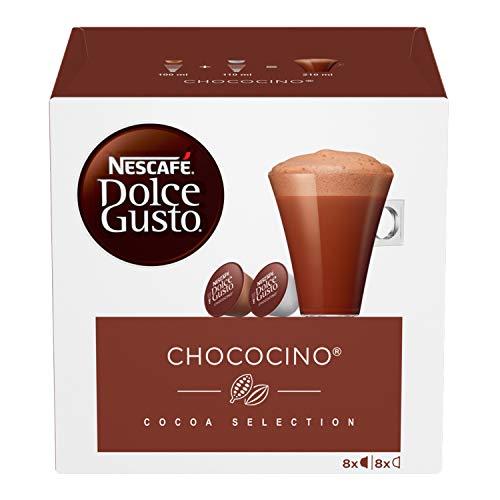NESCAFÉ Dolce Gusto Chococino, Cioccolata 6 Confezioni da 16 Capsule (96 Capsule)