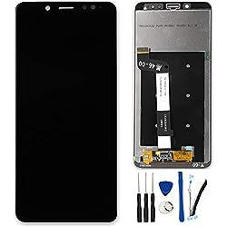 SOMEFUN Pantalla Táctil LCD de Digitalización Asamblea Pantalla de Recambio para For Xiaomi Redmi Note5 / Note 5 Pro Negro Sin Marco