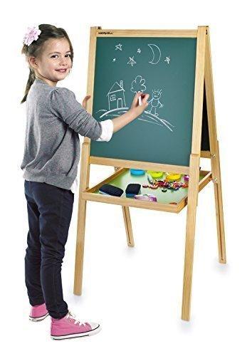 Leomark Deluxe Lavagna Per Bambini Multiattività Lavagna Per Dipingere Lavagna Magnetica In Legno...