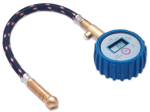 Laser 2961 - Manómetro digital para comprobar la presión de las ruedas (100 mm)