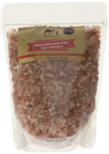 Sale Rosa dell'Himalayan, sacchetto di Silk Route Spice Company, sale grosso (1kg)