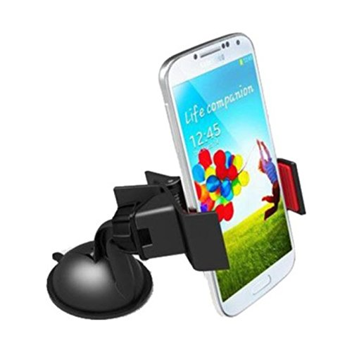 Retina 2768 360-Degree Rotating Mobile Holder (Black)