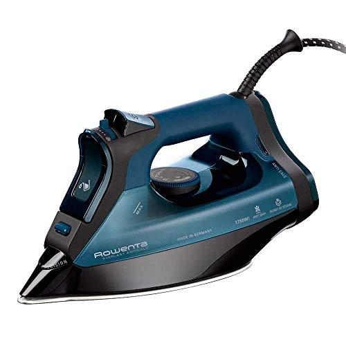 Rowenta DW8113 Ferro da stiro a secco e a vapore Microsteam 400 soleplate 2700W Nero, Blu ferro da...