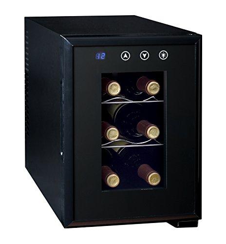 Ardes AR5I06V - Cantinetta Termoelettrica Per 6 Bottiglia di Vino con Luce Interna Classe Energetica...