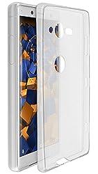Kaufen mumbi UltraSlim Hülle für Sony Xperia XZ2 Compact Schutzhülle transparent (Ultra Slim - 0.70 mm)