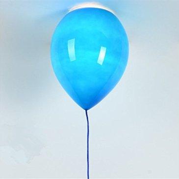 Moderne Ombre Enfants Place, Le Verre Lampenschirm, Soirée, Bar, Festival–Le Ballon deckenleuchte, 1x e27,40W,? 20cm