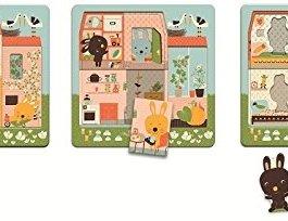 3 layers puzzle – Cottage dei conigli