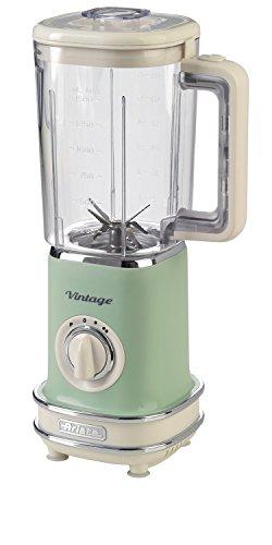 Ariete 568 Frullatore Vintage - Frullatore con 500 watt e tazza graduata da 1,5 litri, 2 velocità +...