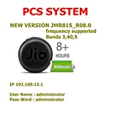 PCS System USB Wired and Wifi Option LTE and VOLTE Supported Jio 4G Hotspot for Postpaid and Prepaid SIM Cards