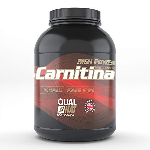 L-carnitina per migliorare ed aumentare le prestazioni sportive - Integratore sportivo che aiuta a perdere peso ed aumentare la massa muscolare con un allenamento adeguato - 180 capsule
