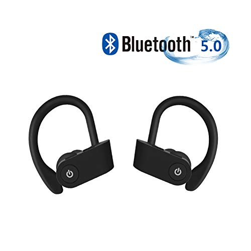 Cuffie Wireless Sport Bass+, Cuffie Bluetooth auricolari wireless 5.0 auricolari in-ear wireless...