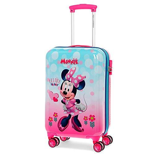 Disney Minnie Heart Valigia per bambini 55 centimeters 37.4 Rosa