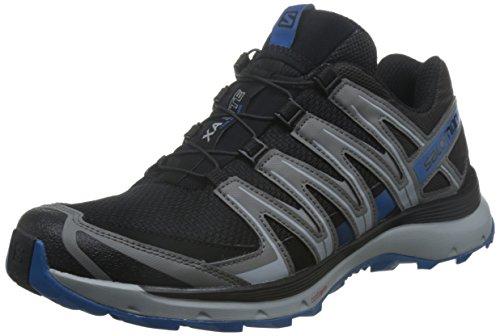 Salomon XA Lite Calzado de trail running Hombre, Negro (Black/Quiet Shade/Imperial Blue), 44 EU