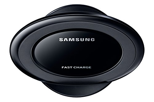 Samsung EP-NG930BWEGWW, Caricabatteria Wireless Fast Charge Qi per Galaxy S7/S7 Edge, USB, Nero