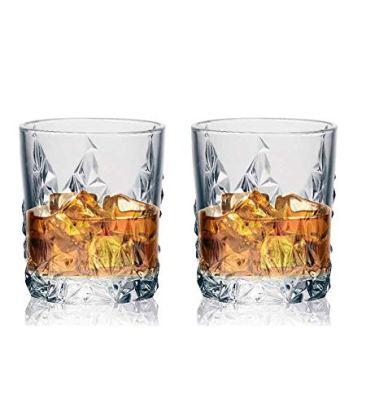 Soogo Jordon Whisky Glass Set, 2-Piece, Transparent 2