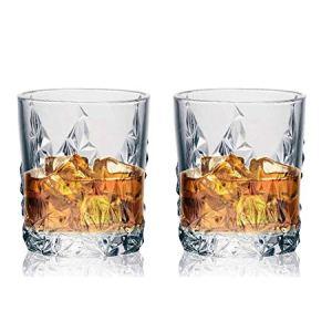 Soogo Jordon Whisky Glass Set, 2-Piece, Transparent 24  Soogo Jordon Whisky Glass Set, 2-Piece, Transparent 41xEzpgyZVL