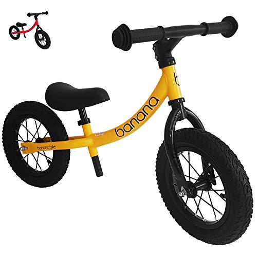 Banana Bike GT - Bicicletta da Equilibrio Senza Pedali per Bambini - 2, 3, 4 e 5 Anni di età...