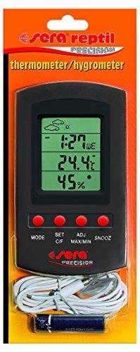 Sera 32032 - Termometro/igrometro per misurare la Temperatura e l'umidità dell'Aria nel terrario con sensore a Distanza