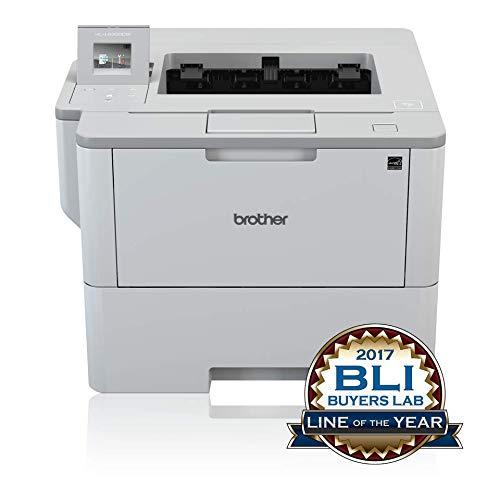 Brother HLL6300DW Stampante Laser Monocromatica, Unità Fronte/Retro Integrata, Scheda di Ethernet,...