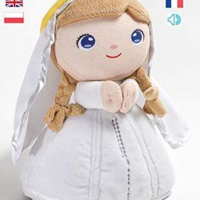 Jesusito de mi vida Peluche Virgen María Oración Ave María 7 Idiomas 22 cm. (Ref. 2003)