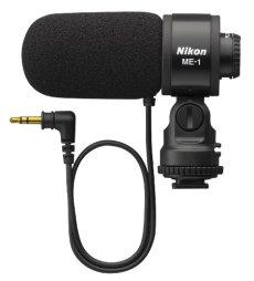 Nikon ME-1 - Micrófono (Cámara digital, 70 - 16000 Hz, Alámbrico, Uni, Negro, 3.5mm)