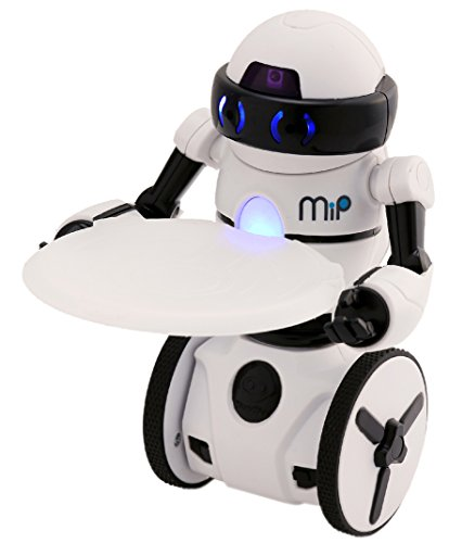 41xLqHEuNSL - Wow Wee- Robot MiP Blanco, Color (WowWee 0821)