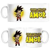 Diver Tazas Taza Parodia de Dragon Ball Goku Algunos malotes también Necesitan Amor - Cerámica